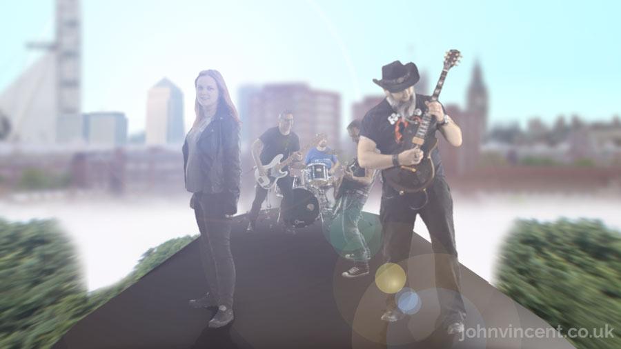 """Give 'em Hell"", Video Still, 2016"
